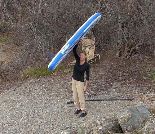 Mistral Crossover Inflatable SUP - only 15 lbs!