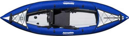 AquaGlide PAnther XP One inflatable kayak - birdseye view