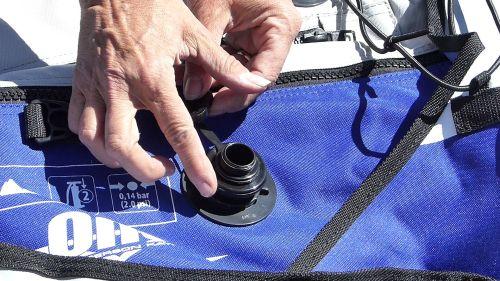Attaching the Boston valve