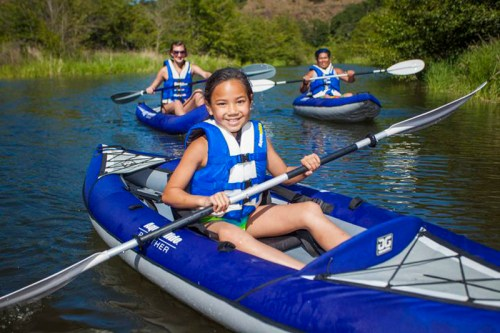 AquaGlide Panther inflatable kayak