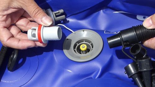 Military valve adaptor