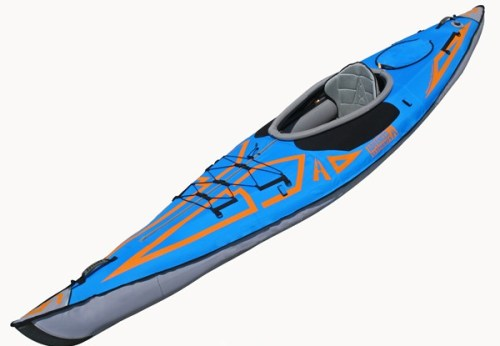 Ocean blue Expedition inflatable kayak