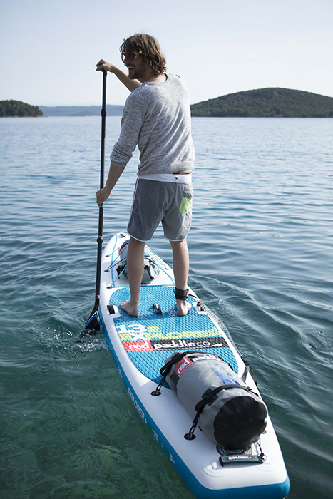 Paddling the Red Paddle Co Explorer Plus 13-2