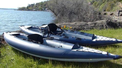 AquaGlide Blackfoot Series Inflatable Angling Kayaks