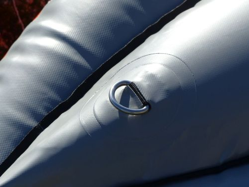 D-rings on underside