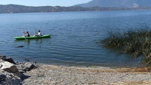 Innova Solar 410C paddled as a tandem