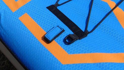 Velcro paddleholder