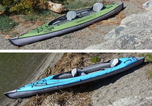 AdvancedFrame 2 versus Convertible kayak