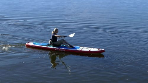 Hala Carbon Nass inflatable SUP as a sit-on-top
