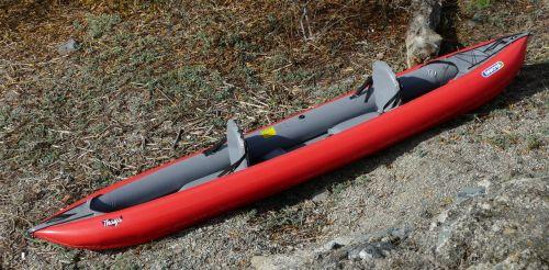The Innova Thaya set up for tandem paddling