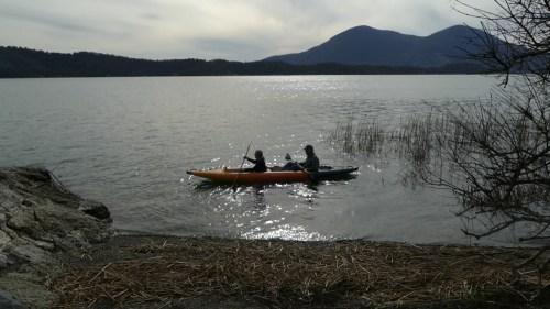 Deschutes 145 paddled as a tandem