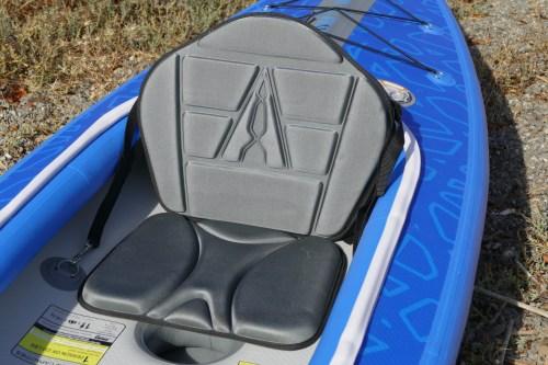 Sculpted EVA foam seat