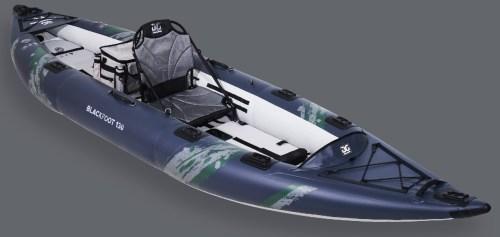2021 Aquaglide Blackfoot 130 Inflatable Kayak
