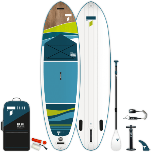 Tahe Outdoors Breeze Inflatable SUP Package