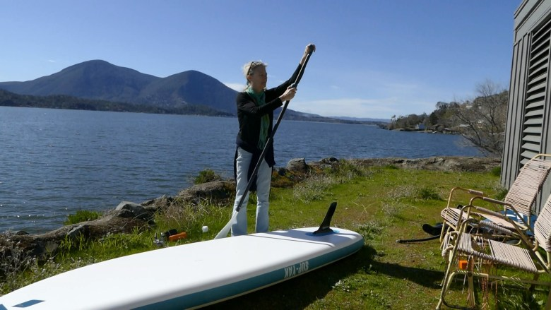 Assembling the breakdown paddle