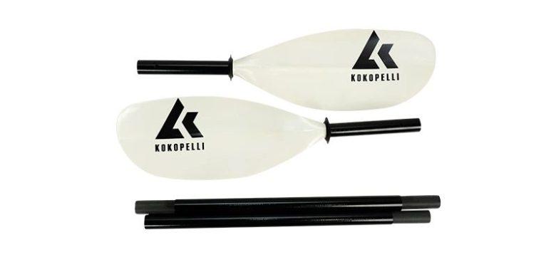 Alpine fiberglass breakdown paddle,