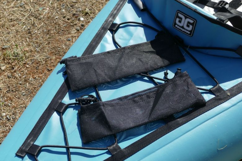 Mesh bags for the molle strips