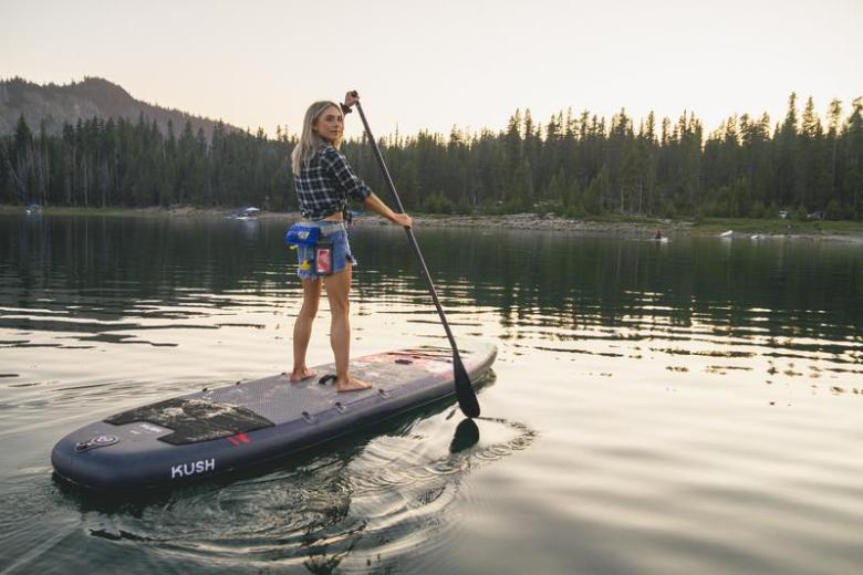 Aquaglide Kush Yoga SUP Crossover for Larger Paddlers