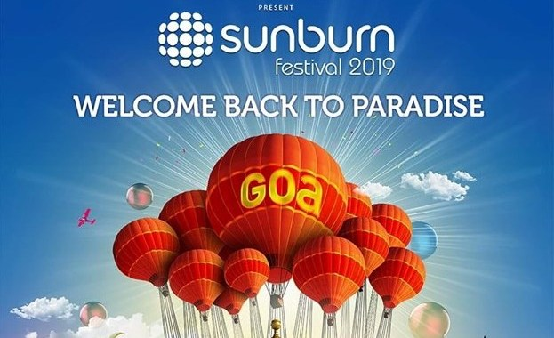 SUNBURN 2019 TO BE HELD AT VAGATOR FROM 27TH TO 29TH DECEMBER