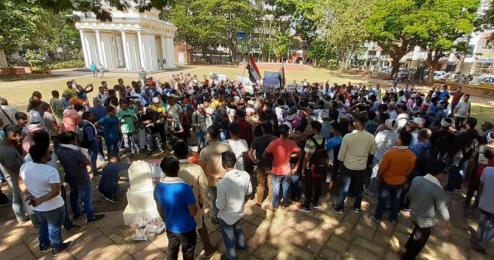 CAA PROTEST AT PANJIM EXPOSES, RAMPANT MIGRATION OF ASSAMESE NATIVE IN GOA
