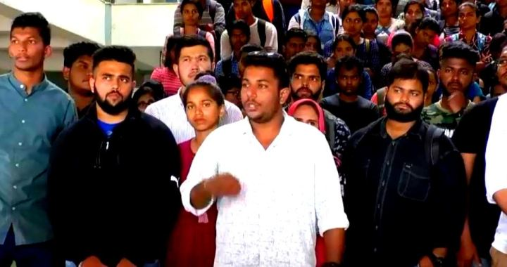 GOA AFGHANI STUDENT STABBING ROW: HALF MURDER CASE SHOULD BE TAKEN TO A LOGICAL CONCLUSION WITHIN 2 DAYS, ELSE WILL STAGE PROTEST AT PANJIM POLICE STATION: STUDENTS COUNCIL
