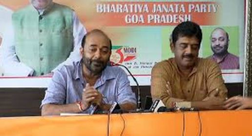 GOA BJP UNANIMOUSLY ELECTS SADANAND TANAVDE AS ITS PRESIDENT