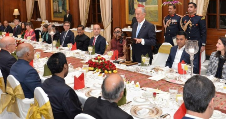 INDIA, PORTUGAL SIGNS 14 PACTS . PORTUGUESE PRESIDENT MARCELO SOUSA TO VISIT GOA ON 15TH FEBRUARY