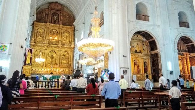 GOA UNLOCK: WORLD HERITAGE CHURCHES COMMENCES TO REOPEN IN GOA || SE CATHEDRAL CELEBRATES FEAST OF THE NATIVITY OF OUR LADY