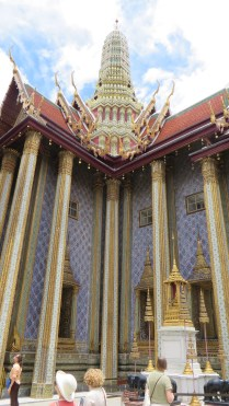 One of the many spectacular buildings in the Grand Palace complex, Bangkok