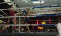 KC attended a Muay Thai boxing match in Chiang Mai. For an interesting history of this martial art, go to http://www.tigermuaythai.com/phuket-thailand/about-muay-thai/history.html