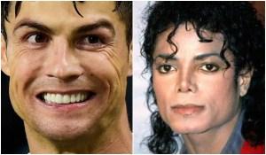 Cristiano Ronaldo's New Hairdo Michael Jackson