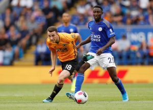 Ndidi Rated 8th Highest EPL