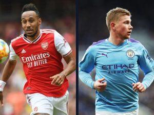 Arsenal Vs Man City Confirmed Lineups