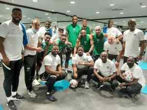 Super Eagles Arrive Cotonou