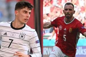 Germany Vs Hungary Confirmed Lineups