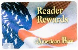 American Press Reader Rewards Card