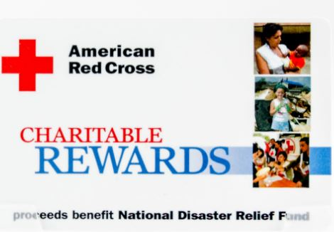 American Red Cross Fundraising Card