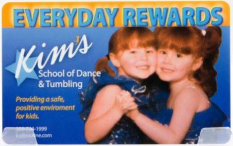 Kims School of Dance - Everyday Rewards Card