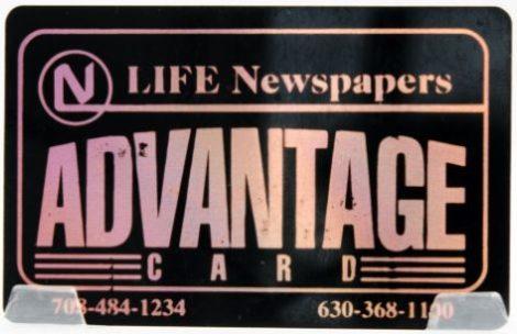 Life Newspaper Advantage Card