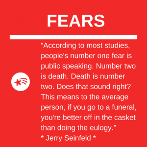 Fear of Public Speaking higher than Fear of Death?