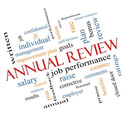 Annual Review, Job performance, goals,