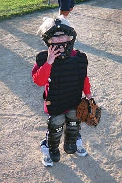 Kelsey Softball Catcher