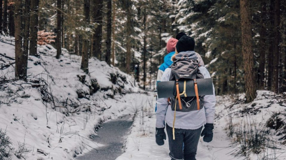 How to Hike in the winter