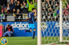 Sounders FC hosts Club Necaxa in a friendly match at Century Link Field, Seattle, Washington on March 25th, 2017