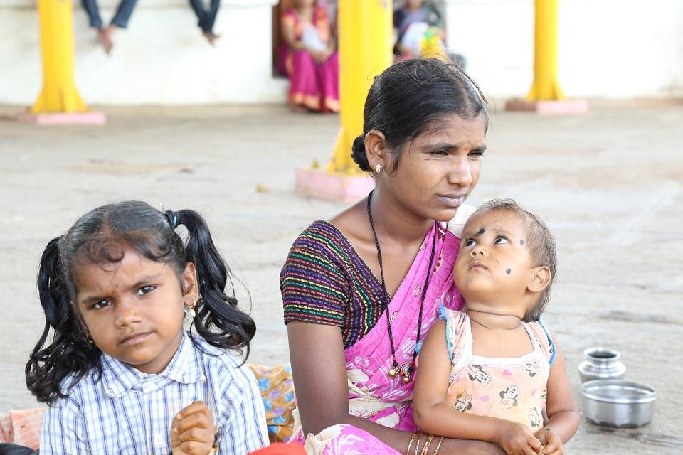 Devadasi girls in India