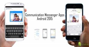 Communication Messenger Apps for Android 2015