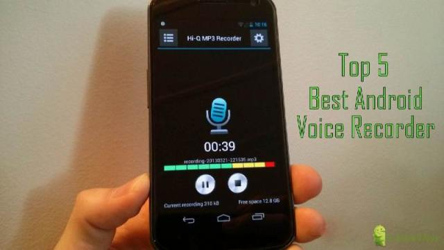 Top 5 Best Voice Recorder for Android | Best Android Voice Recorder