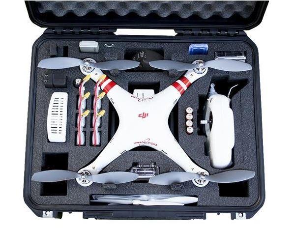 Go Professional Cases DJI Phantom 1 Case for Quadcopter and GoPro Cameras