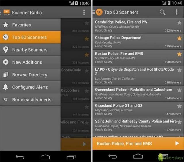 Scanner Radio App
