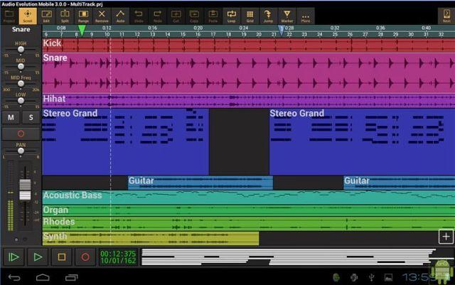 Audio Evolution Mobile Studio App